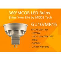 Buy cheap MCOB 4W GU10 LED Bulb,50W Halogen Light Bulbs Replacement,Super Bright GU10 from wholesalers