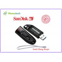 Buy cheap 100% Original SanDisk CZ48 USB 3.0 Flash Drive 64gb With Password Protection , Black Color product