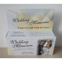 Buy cheap Disposable wedding cameras from wholesalers
