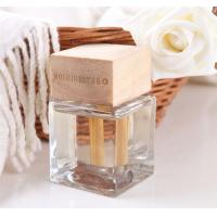 Buy cheap 100ml Oil Reed Diffuser, Square Glass Reed Diffuser with Wood Wick TS-RD23 from wholesalers