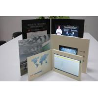 Buy cheap HD USB Lcd Video Greeting Card , Wifi Sensor Switch Promotional Video Brochure from wholesalers