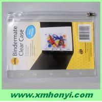 Buy cheap pvc plastic document holder with zipper from wholesalers