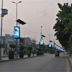 Buy cheap Waterproof Dustproof 5mm Commercial Advertising LED Display Screen 9500K - 11500K from wholesalers