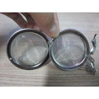 Buy cheap Lightweight stainless steel air filter Tea Ball With Corrosion Resistant , Halogen Material from wholesalers