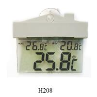 Buy cheap Min/Max Temperature Display Digital Window Thermometers H208 product