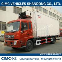 Buy cheap JG5160XLC4 DONGFENG 8 Ton 4*2 refrigerated van truck refrigerated truck body from wholesalers