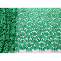 Buy cheap Water soluble African Guipure Lace Fabric/African Lace Fabrics/Guipure lace from wholesalers