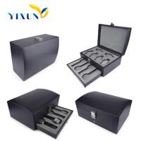 Buy cheap Luxury PU Leather Watch Box Watch Packaging Box Wholesale from wholesalers