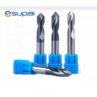 Buy cheap High Hardness Chamfer Drill Bit 4 Flute Customized Length ISO Certification from wholesalers