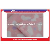 Buy cheap Shoes / Sofa / Toy Material Coral Fleece Fabric Eco-friendly Printed Polyester Fabrics from wholesalers