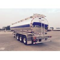 Buy cheap CIMC Fuel Tank Trailer ADR Standard Aluminum Alloy With 5 Compartments from wholesalers