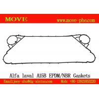 Buy cheap Supply stocked NBR&EPDM alfa-laval replacement A15B,AK20,Clip6,Clip8,Clip10 plate heat exchanger plate gaskets from wholesalers