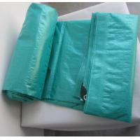 Buy cheap PP rope reinforced plastic PE eyelet tarpaulin with cheap price from wholesalers