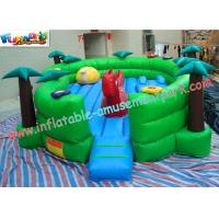 Buy cheap Customized Outside Kids Inflatable Amusement Park Equipment with Digital Printing from wholesalers