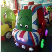 Buy cheap Hansel electric indoor amusement park toys electrical cars for childrens from wholesalers