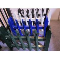 Buy cheap Eco Friendly Palisade Security Fence , Metal Picket Fence Panels 2.0*2.4m Size from wholesalers
