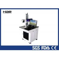 Buy cheap Fiber Co2 Laser Marking Machine 10w , Jewerly Silver Golden Metal Laser Marking Machine from wholesalers