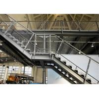 Buy cheap Safety SS 304 Wire Rope Mesh Steel Cable Netting For Stairs Railing Install Use from wholesalers