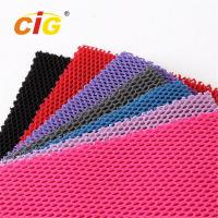 Buy cheap Abrasion - Resistant Upholstery 100% Polyester Mesh Fabric for Garment product
