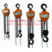Buy cheap Hand Chain Hoist,Hand Chain Block,Manual Chain Block from wholesalers