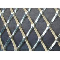 Buy cheap Galvanized Aliminum Expaned Flattened Mesh Weave 50mm*50mm*2.5mm Strength from wholesalers