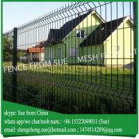 Buy cheap Guangzhou supplier 2.5m wide PVC coated Welded wire mesh fencing factory from wholesalers