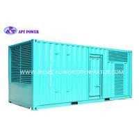 Buy cheap 1500kW Diesel Engine Generator Container Industrial Diesel Generator from wholesalers
