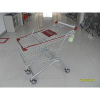 Buy cheap Popular Metal Steel Grocery Shopping Cart For Big Shopping Mall 125L from wholesalers