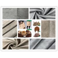 Buy cheap Customize Color Faux Suede Fabric For Clothing , 105D Stretchable Suede Fabric from wholesalers