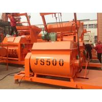 Buy cheap High Quality China Manufacturer JS500 Twin Shaft Concrete Mixer Machine For Sale product