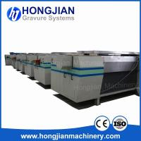 Buy cheap High-quality Gravure Cylinder Making Equipment Fully Automatic Production Line Rotogravure Cylinder Plant Plating Tanks product
