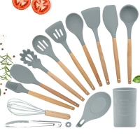 Buy cheap 13Pcs Non Stick Silicone Spatula Set With Wooden Handle from wholesalers
