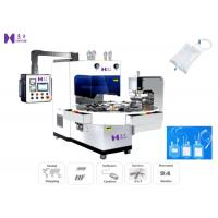 Buy cheap 6-8 Pcs / Min Medical Pouch Making Machine Three Phase With 7T69RB Vibrational Tube from wholesalers