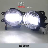 Buy cheap TOYOTA Verso replace car fog light LED daytime driving lights DRL for buy from wholesalers