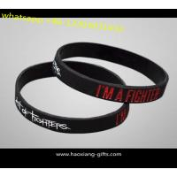Buy cheap Free logo printed/Embossed/Debossed Promotion silicone wristbands/bracelet from wholesalers