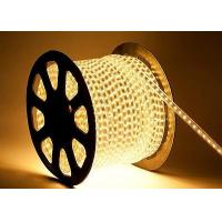 Buy cheap 100M Warm White 110/220V High Power SMD5050 Flexible LED strip rope Lights from wholesalers