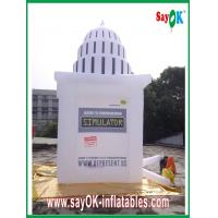 Buy cheap White Giant  Inflatable Tower Custom Inflatable Products For Advertising from wholesalers