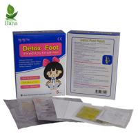 Buy cheap China Online Wholesale Customize 5Bags Per Box Cleansing Gold Foot Detox Pads from wholesalers