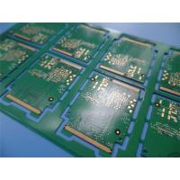 Buy cheap Untrathin PCB On 4 Layer Copper at 0.4mm Thick with Immersion Gold and White silkscreen from wholesalers
