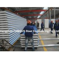 Buy cheap Corrugated Steel Roofing Sheet Metal Roofing Sheets Sandwich Panel EPS PU Rock Wool from wholesalers
