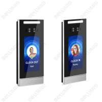 Buy cheap 10K User Biometric 8G EMMC Face Scanner Attendance System from wholesalers