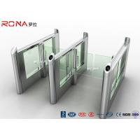 Buy cheap Stainless Steel Fingerprints Turnstile Entrance Gates Simple Appearance High Speed product