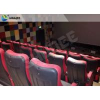 Buy cheap Red / Black 4D Movie Theater , 4D Motion Seat Is Main Technology For Cinema Hall product
