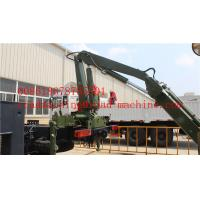 Buy cheap Wireless Remote Control Side Lifter Hydraulic Crane For Lifting 20ft 40ft Container from wholesalers