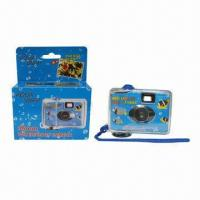 Buy cheap Disposable Waterproof Camera with Maximum Depth, Customized Packing/Design Welcome, for Outdoor Use from wholesalers