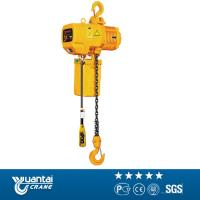 Buy cheap Yuantai 2t monorail traveling electric chain hoist for sell from wholesalers