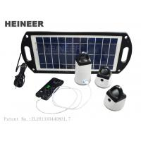 Buy cheap Heineer M8 Solar Lighting Series,can charge mobile phone,ipad,Solar Lights for Outdoor from wholesalers