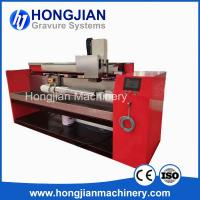 Buy cheap Cost-effective Chrome Finishing Machine Gravure Cylinder Polishing Machine Microfinishing Film Sand Belt Polishing Band from wholesalers