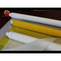 Buy cheap White Color Polyester silk screen printing mesh fabric factory price from wholesalers