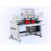 Buy cheap 2 Head Cap / Garment Tubular Embroidery Machine , Cording + Sequin from wholesalers